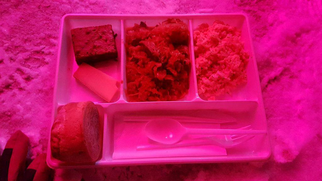obligátní musherské menu