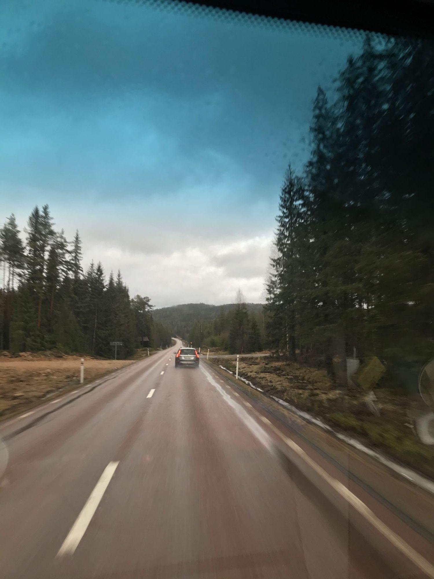 cesta do Švédska